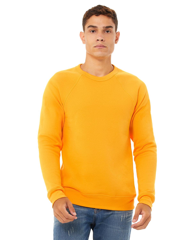 Bella + Canvas Unisex Sponge Fleece Crewneck Sweatshirt GOLD