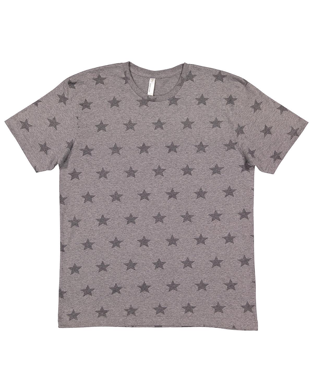 Code Five Mens' Five Star T-Shirt GRAN HTHR STAR
