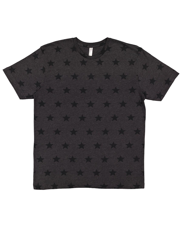 Code Five Mens' Five Star T-Shirt SMOKE STAR