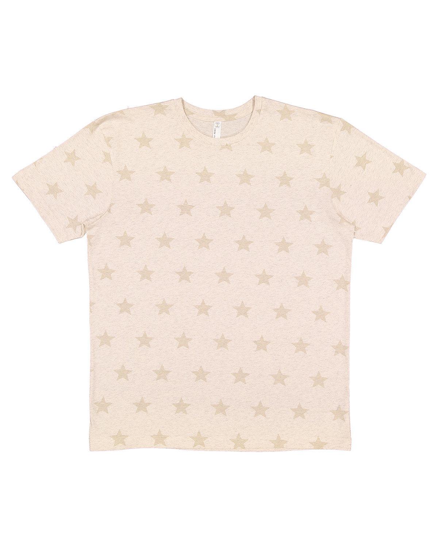 Code Five Mens' Five Star T-Shirt NATURAL HTH STAR