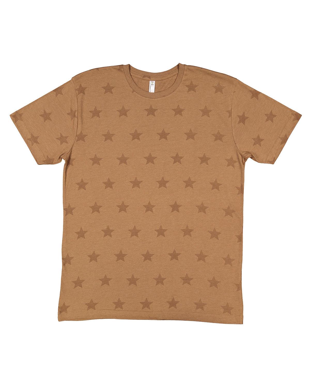 Code Five Mens' Five Star T-Shirt COYOTE BRWN STAR