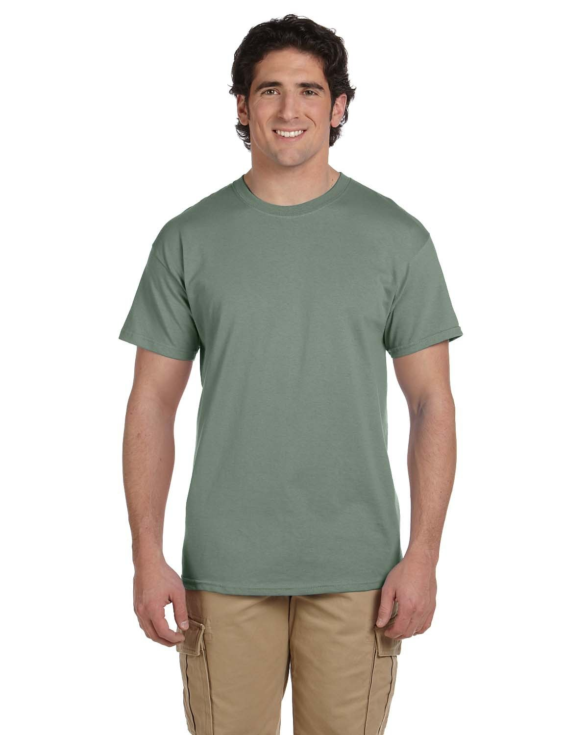 Fruit of the Loom Adult HD Cotton™ T-Shirt SAGESTONE