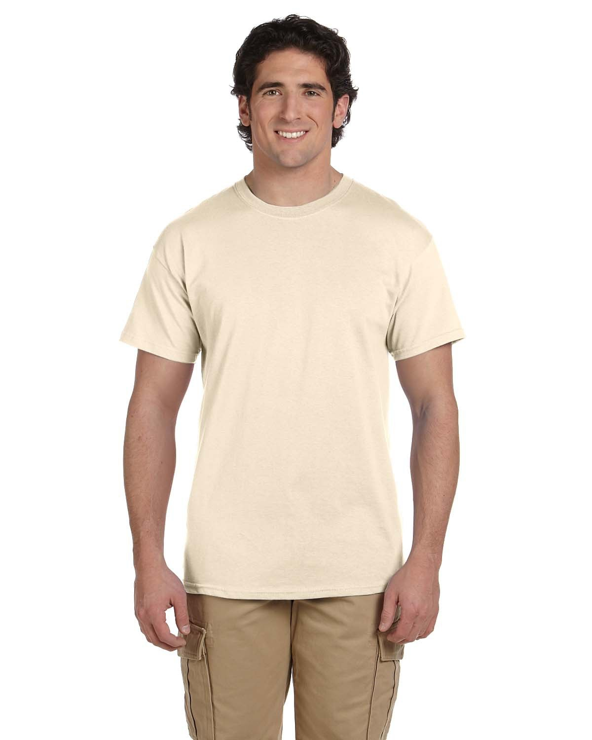 Fruit of the Loom Adult HD Cotton™ T-Shirt NATURAL