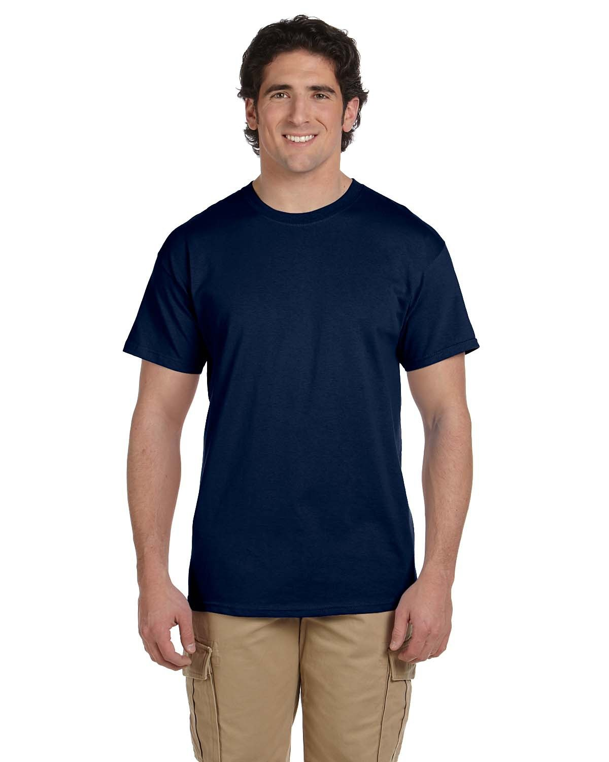 Fruit of the Loom Adult HD Cotton™ T-Shirt J NAVY