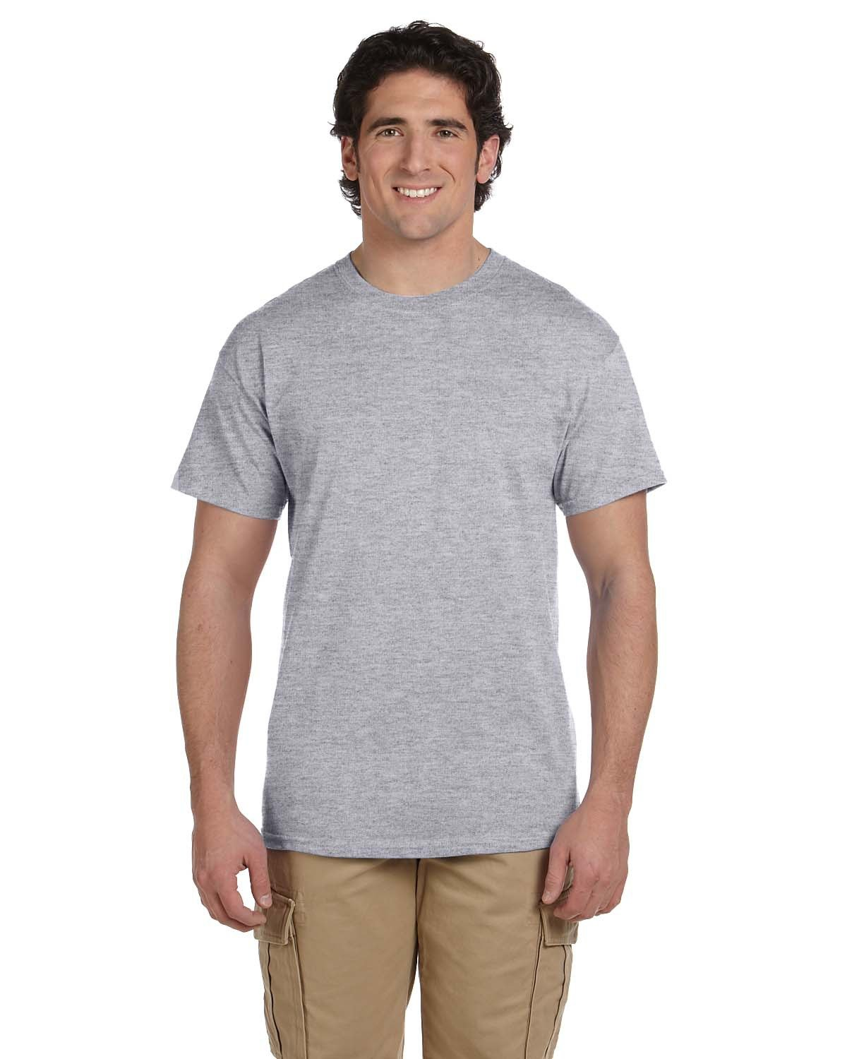 Fruit of the Loom Adult HD Cotton™ T-Shirt ATHLETIC HEATHER