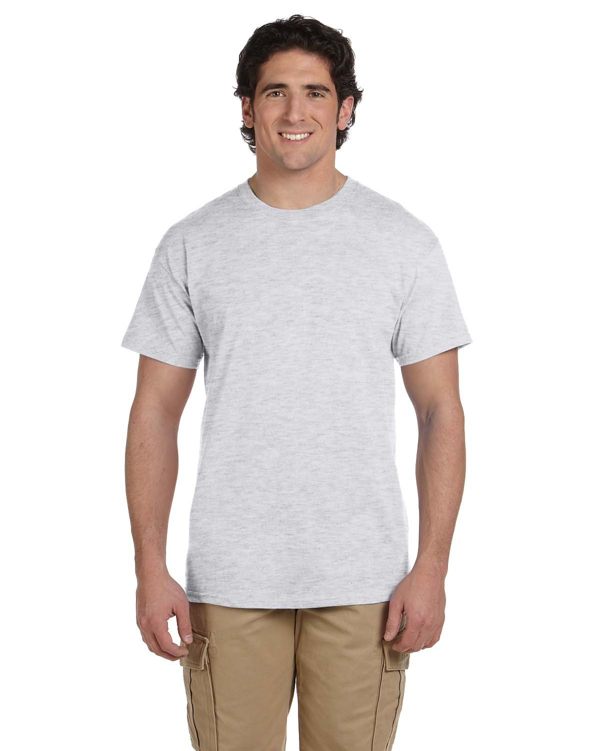 Fruit of the Loom Adult HD Cotton™ T-Shirt ASH