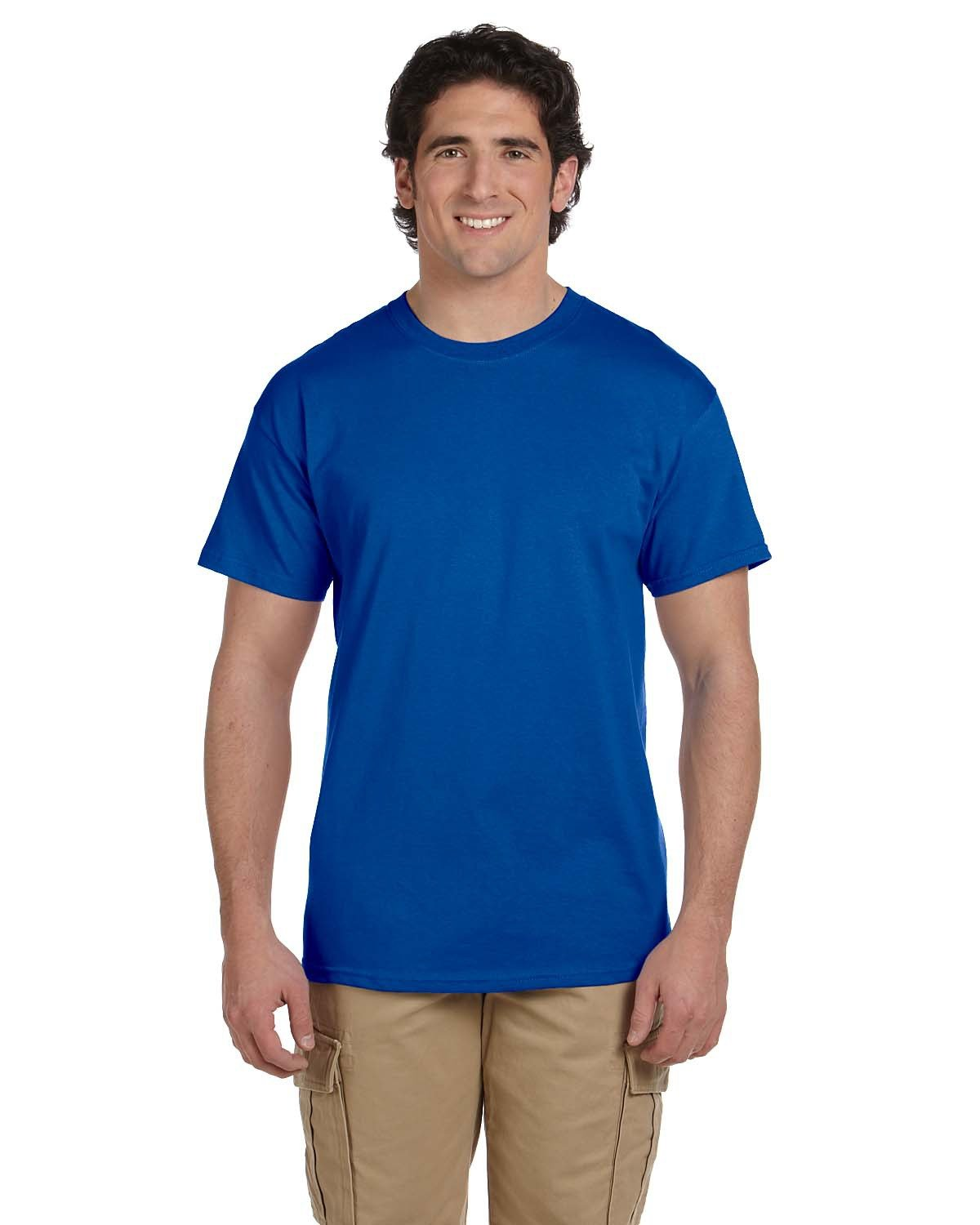 Fruit of the Loom Adult HD Cotton™ T-Shirt ROYAL