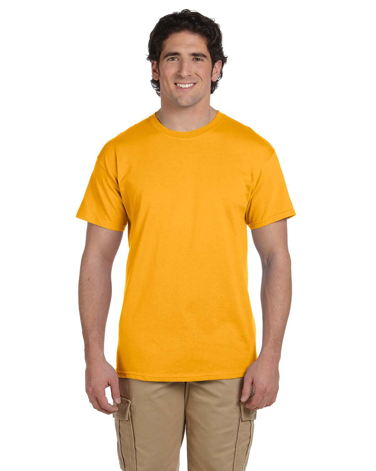 Fruit of the Loom Adult HD Cotton™ T-Shirt GOLD
