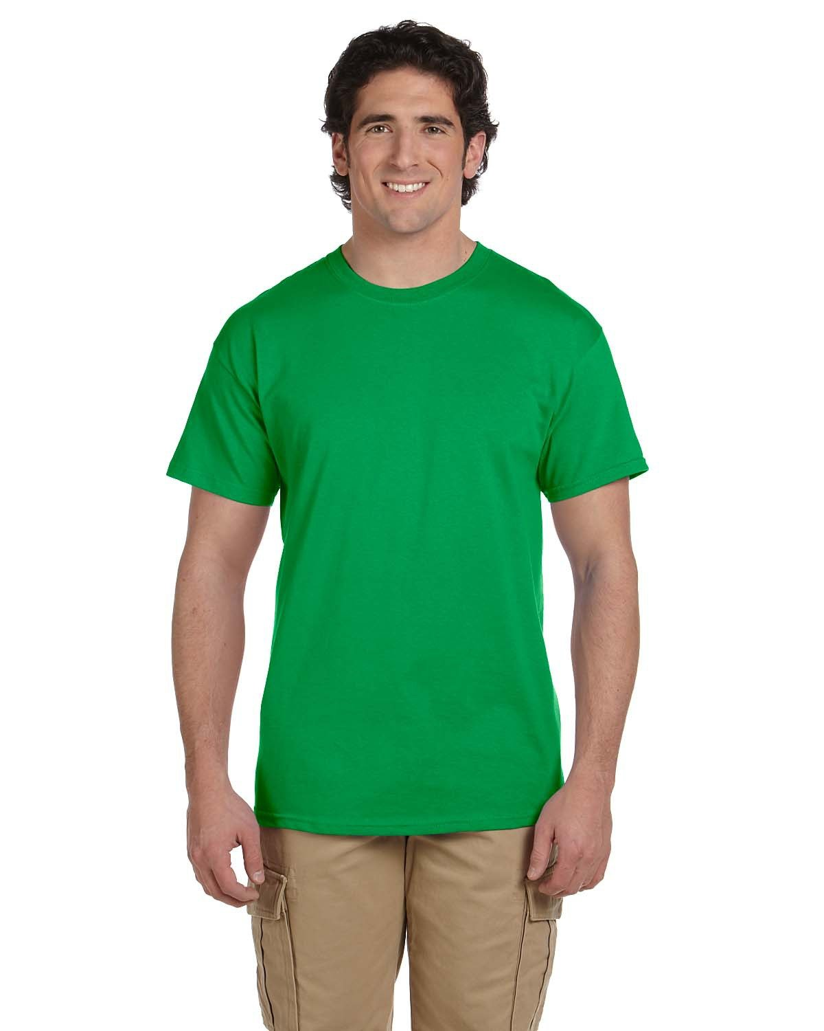 Fruit of the Loom Adult HD Cotton™ T-Shirt KELLY