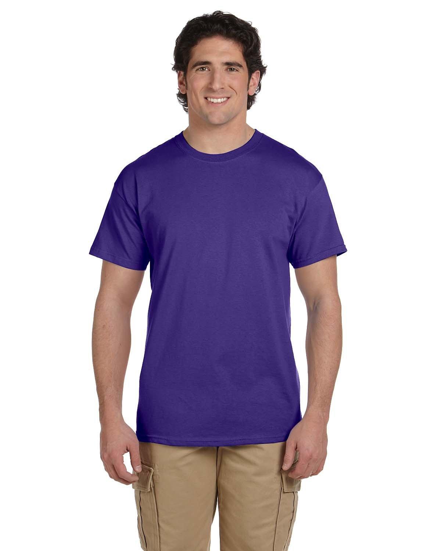 Fruit of the Loom Adult HD Cotton™ T-Shirt DEEP PURPLE