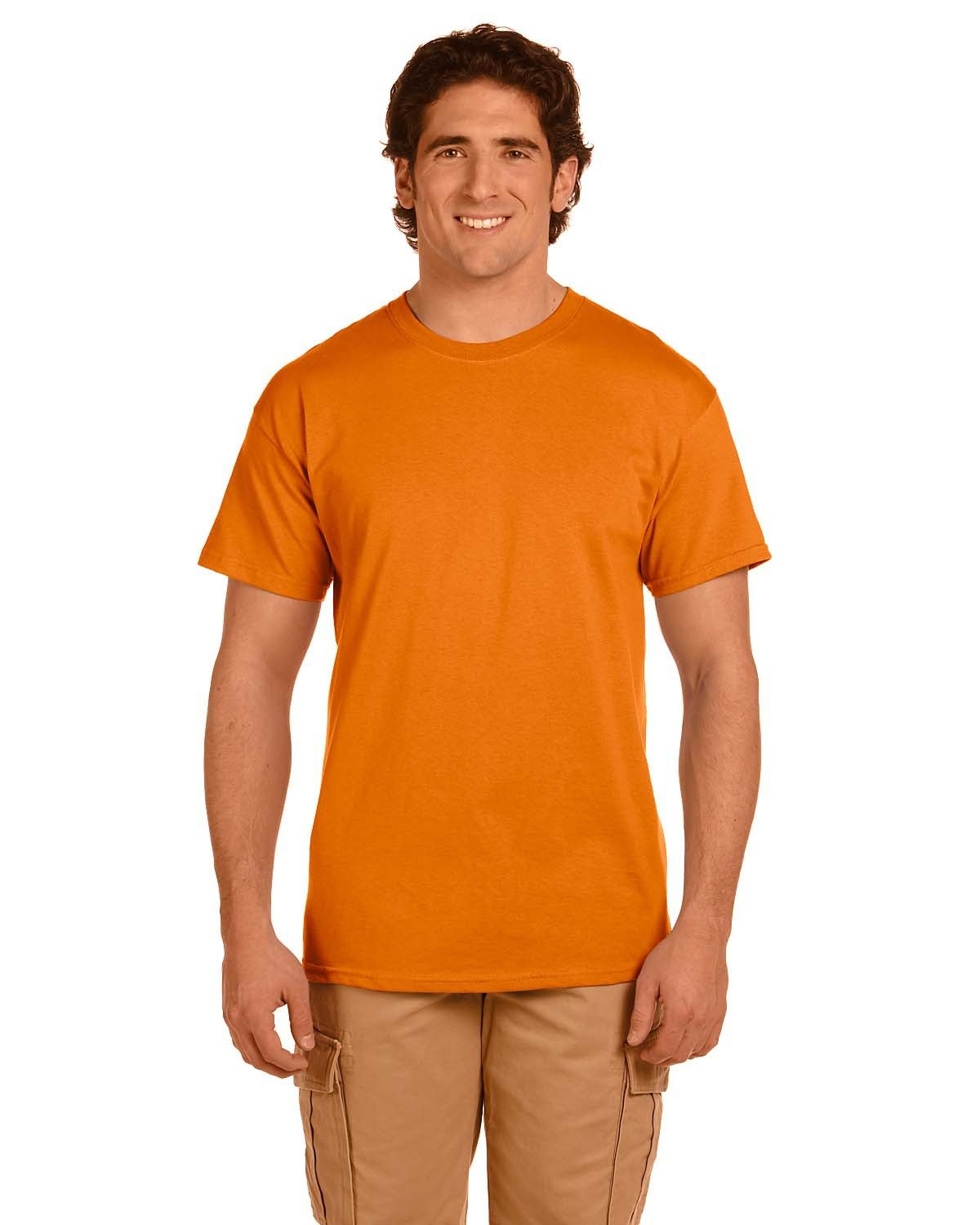 Fruit of the Loom Adult HD Cotton™ T-Shirt TENNESSEE ORANGE