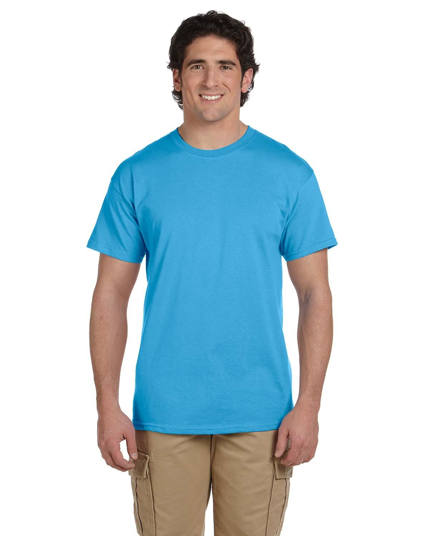 Fruit of the Loom Adult HD Cotton™ T-Shirt AQUATIC BLUE