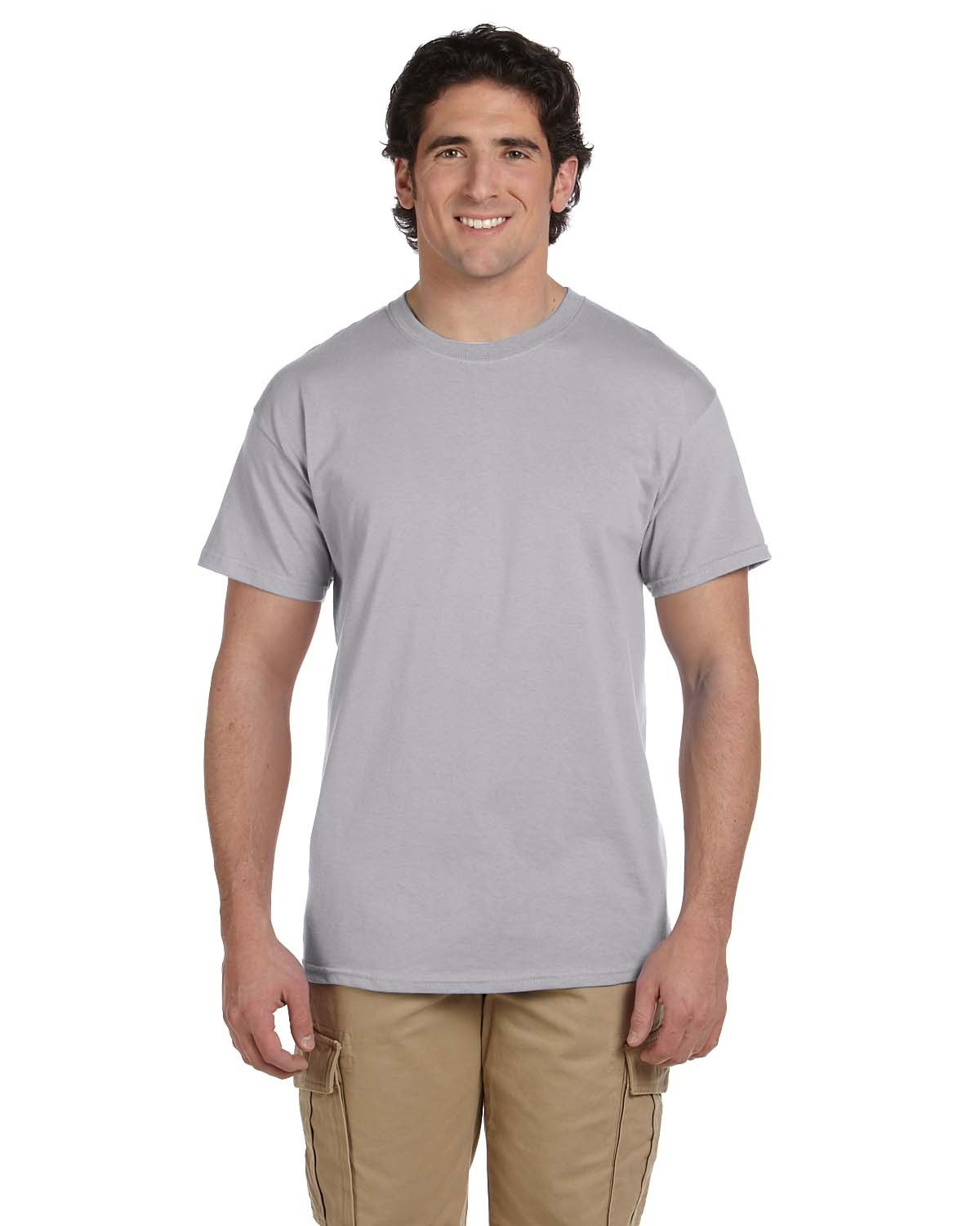 Fruit of the Loom Adult HD Cotton™ T-Shirt SILVER
