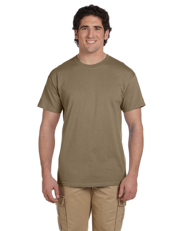 Fruit of the Loom Adult HD Cotton™ T-Shirt SAFARI