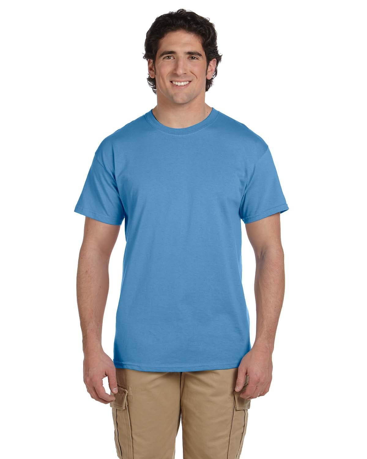 Fruit of the Loom Adult HD Cotton™ T-Shirt COLUMBIA BLUE