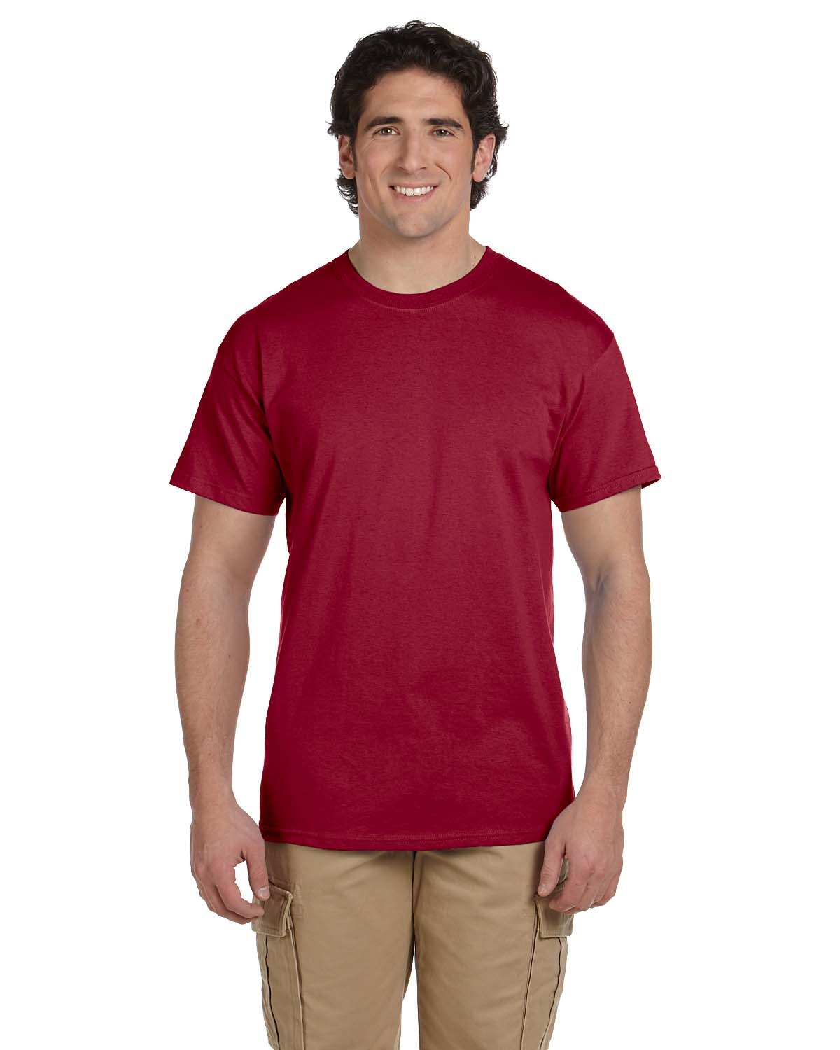 Fruit of the Loom Adult HD Cotton™ T-Shirt CARDINAL