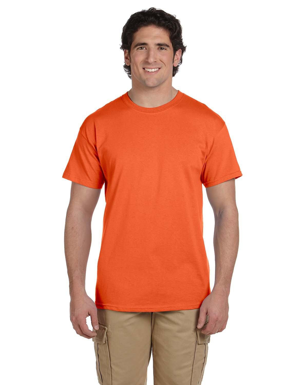 Fruit of the Loom Adult HD Cotton™ T-Shirt BURNT ORANGE