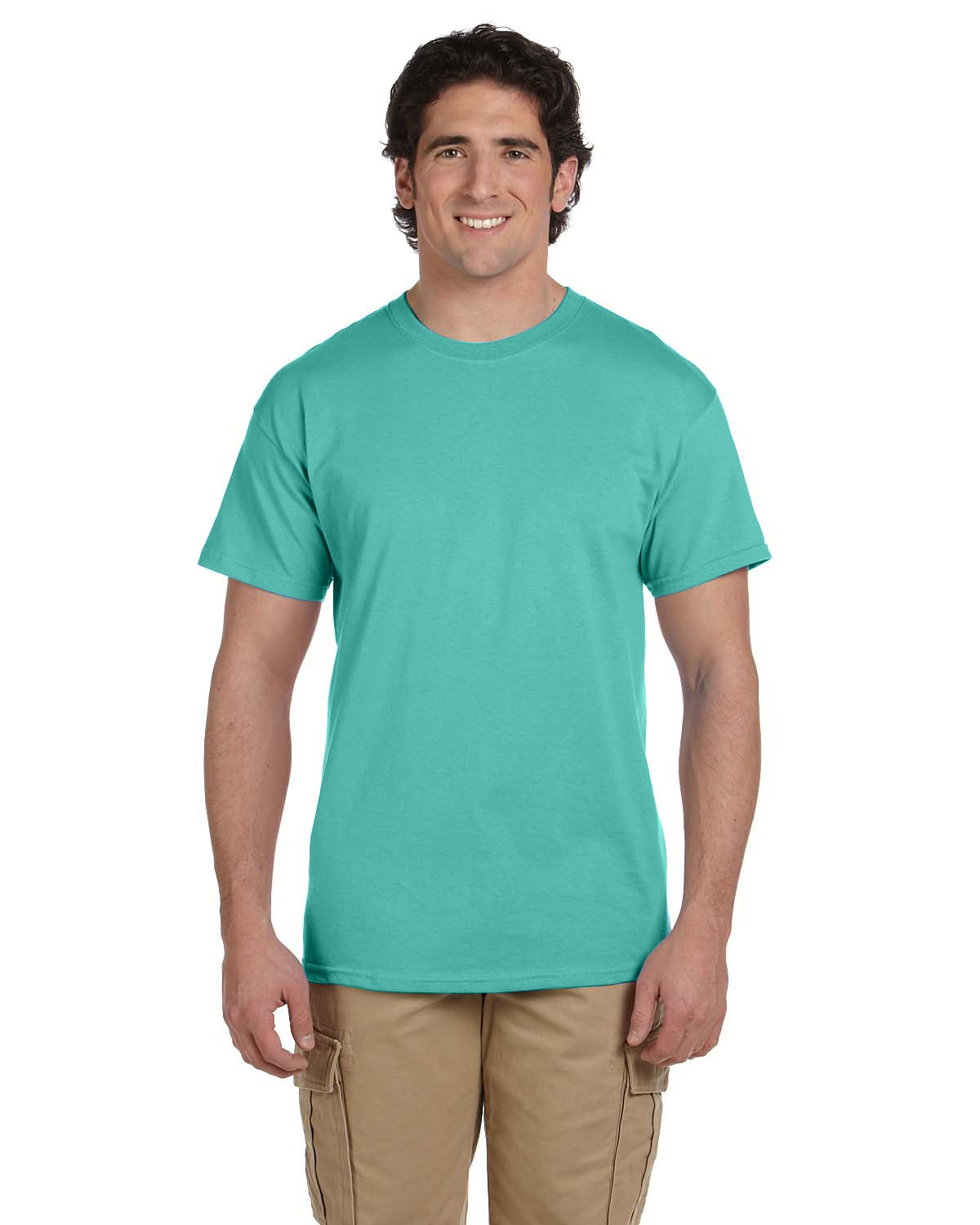 Fruit of the Loom Adult HD Cotton™ T-Shirt COOL MINT