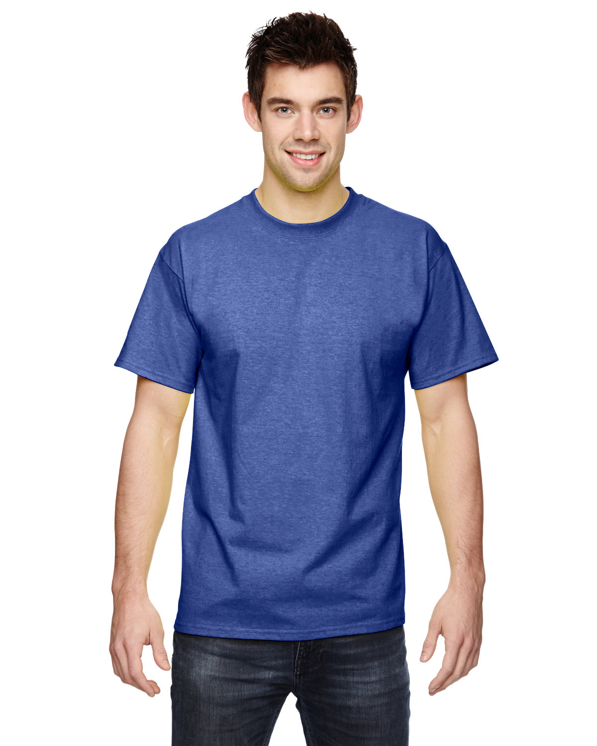 Fruit of the Loom Adult HD Cotton™ T-Shirt ADMIRAL BLUE