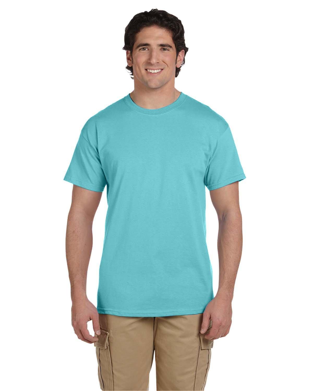 Fruit of the Loom Adult HD Cotton™ T-Shirt SCUBA BLUE