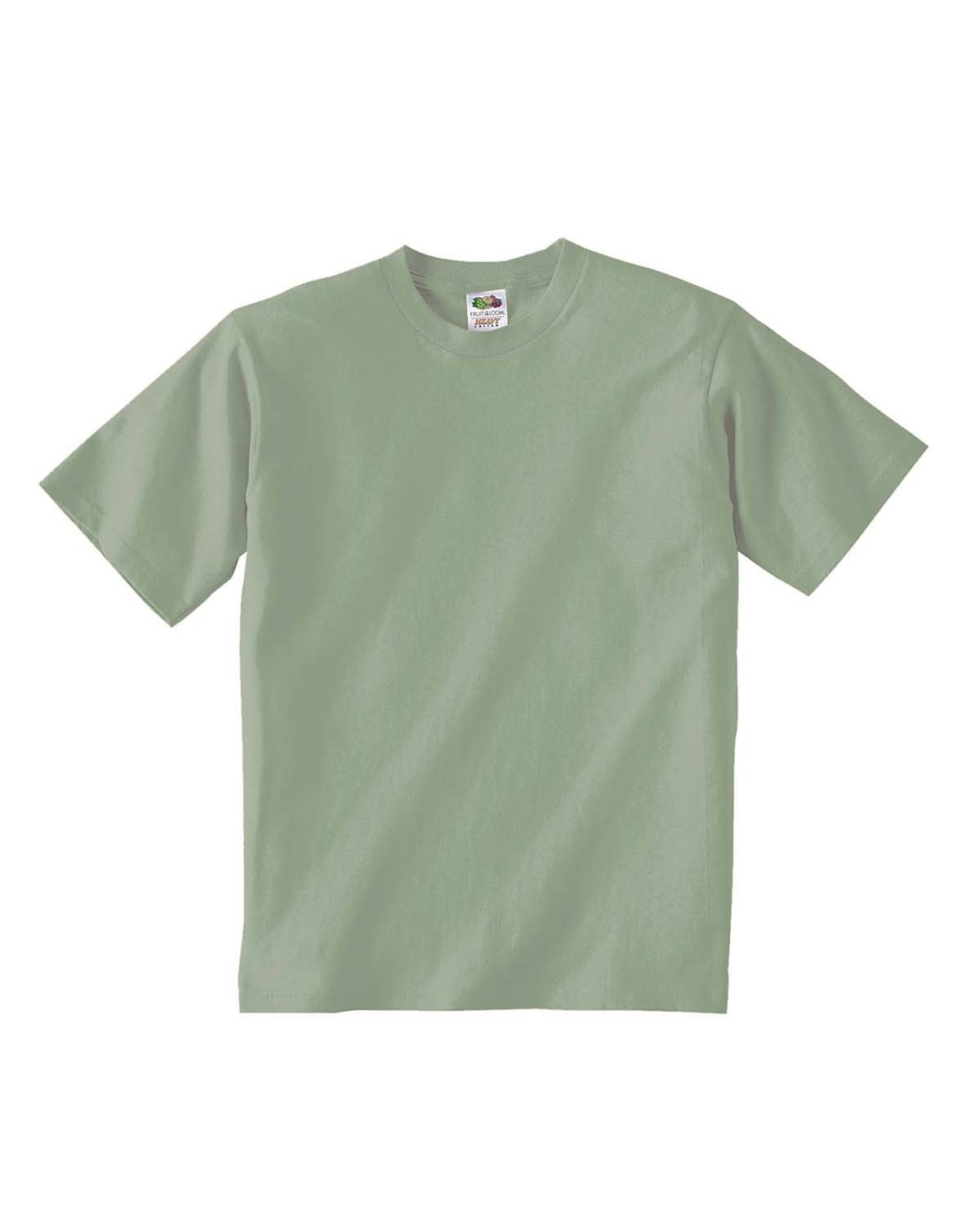 Fruit of the Loom Youth HD Cotton™ T-Shirt SAGESTONE
