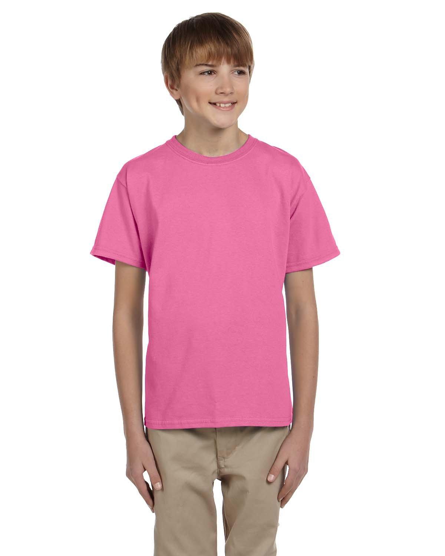 Fruit of the Loom Youth HD Cotton™ T-Shirt AZALEA