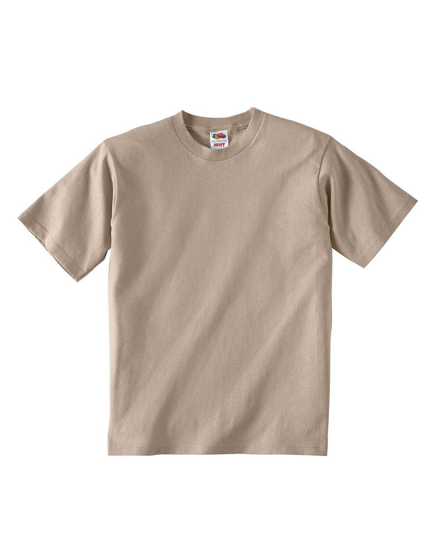 Fruit of the Loom Youth HD Cotton™ T-Shirt KHAKI