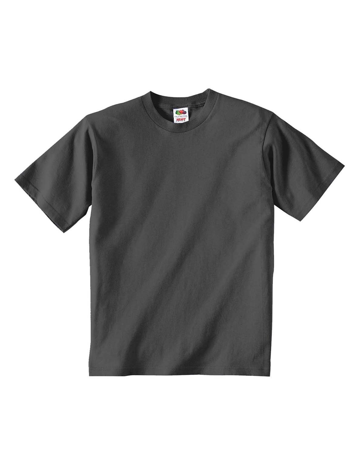 Fruit of the Loom Youth HD Cotton™ T-Shirt CHARCOAL GREY