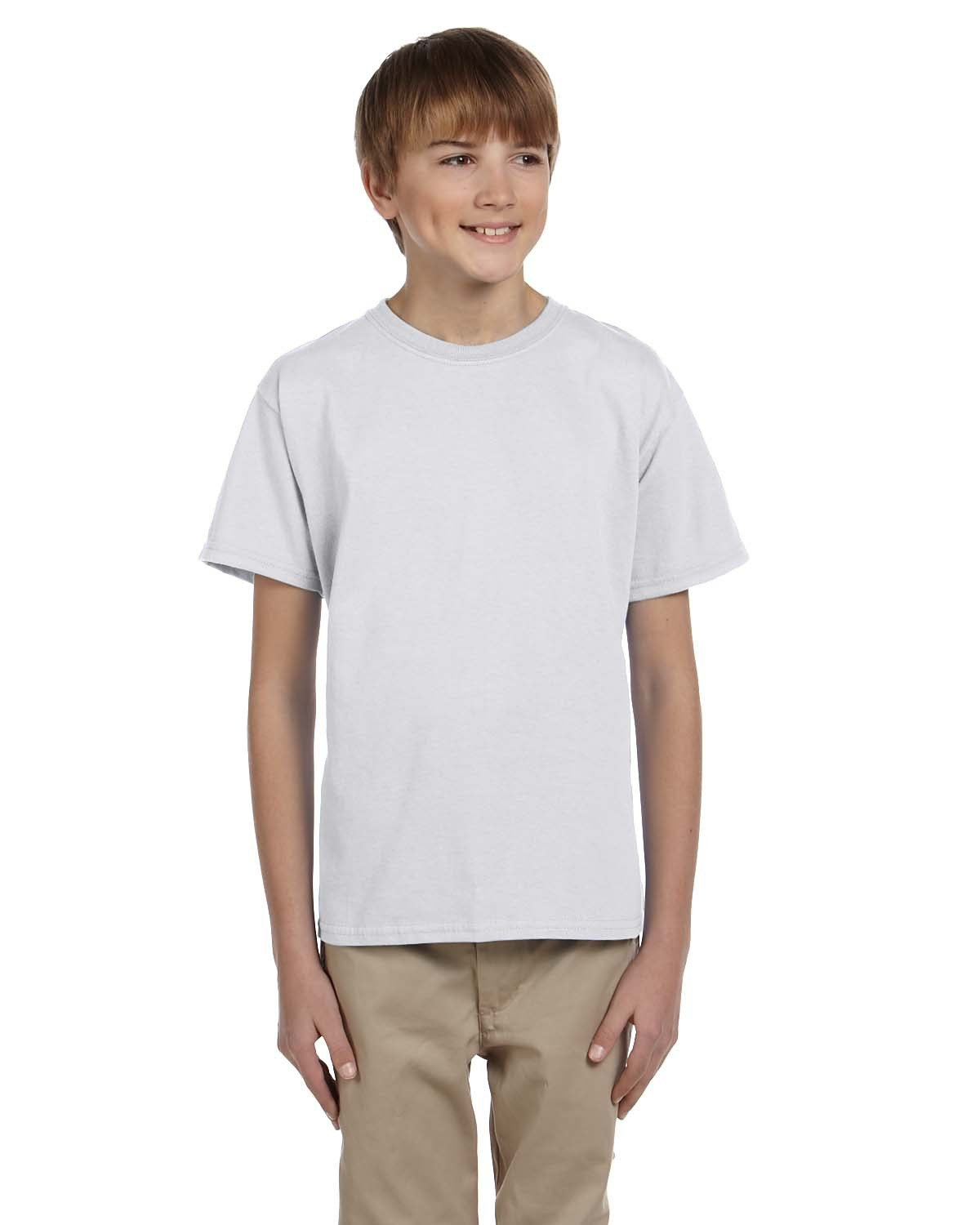 Fruit of the Loom Youth HD Cotton™ T-Shirt ASH