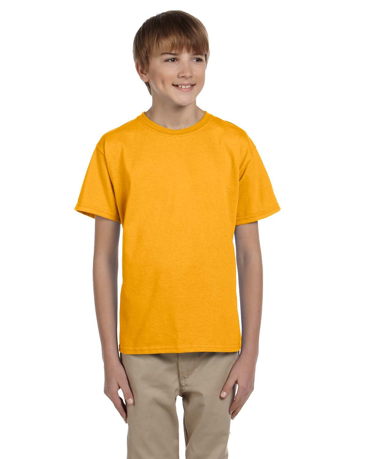 Fruit of the Loom Youth HD Cotton™ T-Shirt GOLD