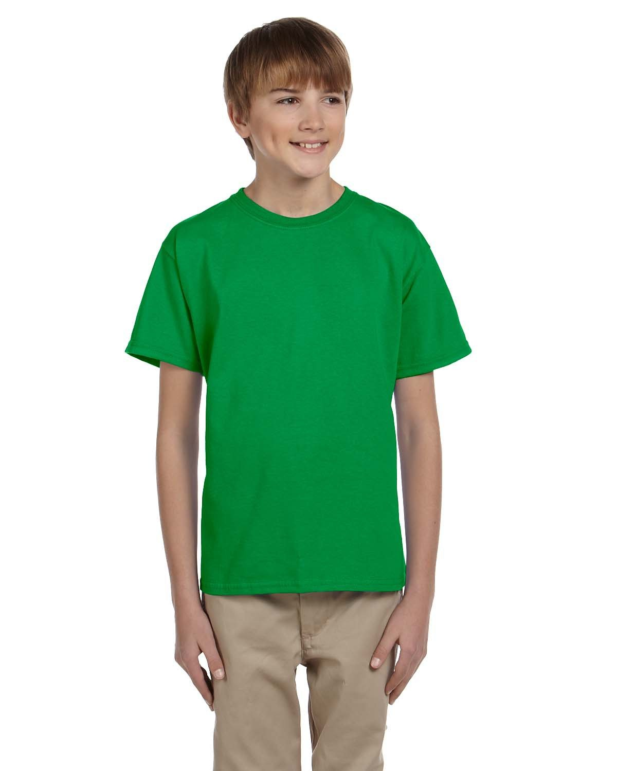 Fruit of the Loom Youth HD Cotton™ T-Shirt KELLY