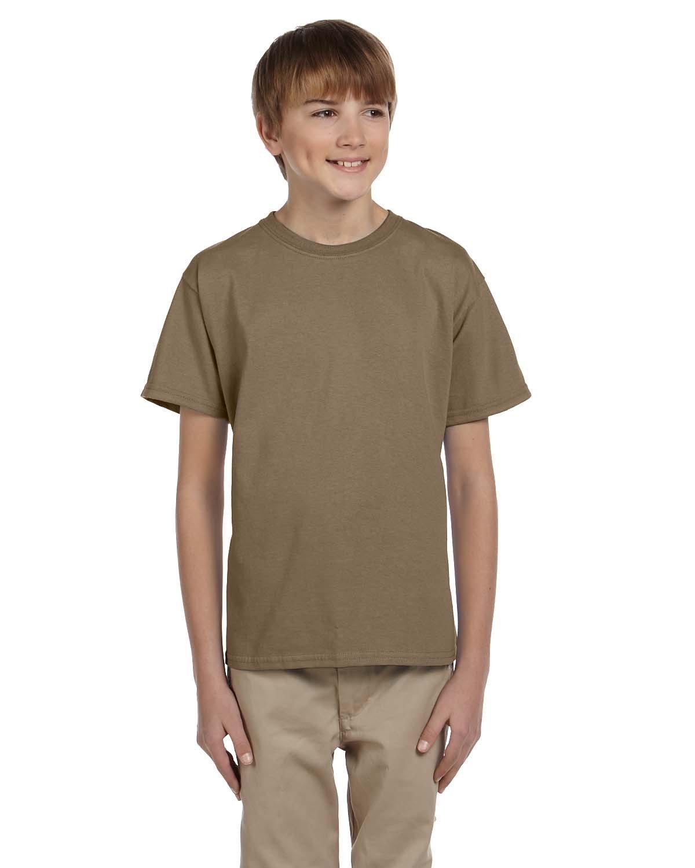 Fruit of the Loom Youth HD Cotton™ T-Shirt SAFARI