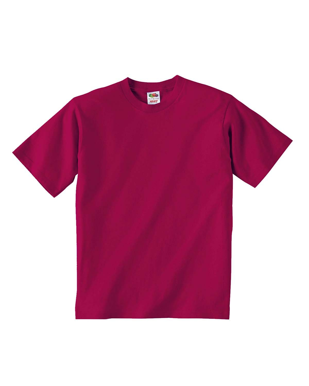 Fruit of the Loom Youth HD Cotton™ T-Shirt CARDINAL