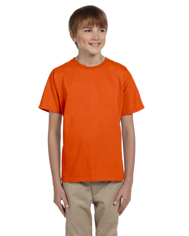 Fruit of the Loom Youth HD Cotton™ T-Shirt BURNT ORANGE