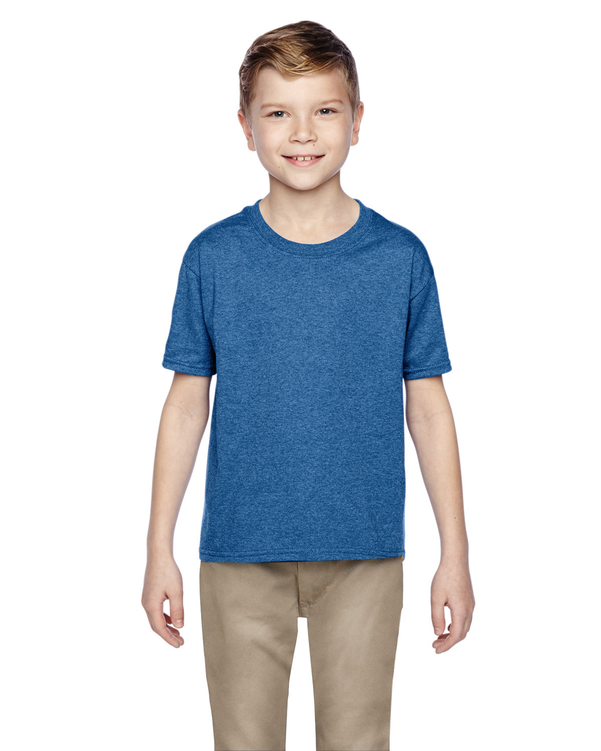 Fruit of the Loom Youth HD Cotton™ T-Shirt RETRO HTH ROYAL