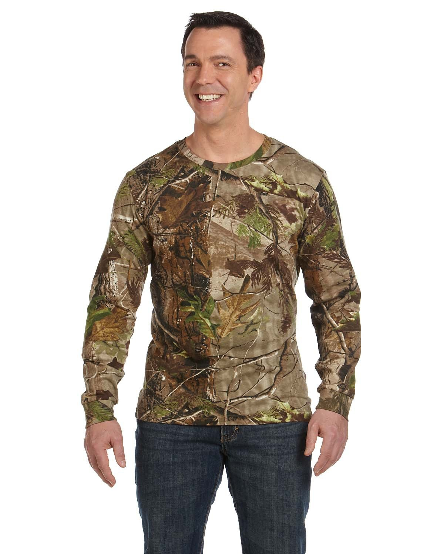 Code Five Men's Realtree Camo Long-Sleeve T-Shirt REALTREE APG