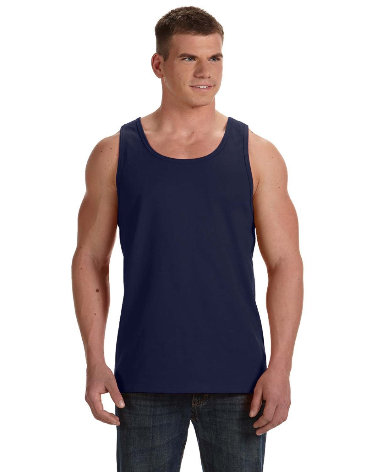 Fruit of the Loom Adult HD Cotton™ Tank J NAVY
