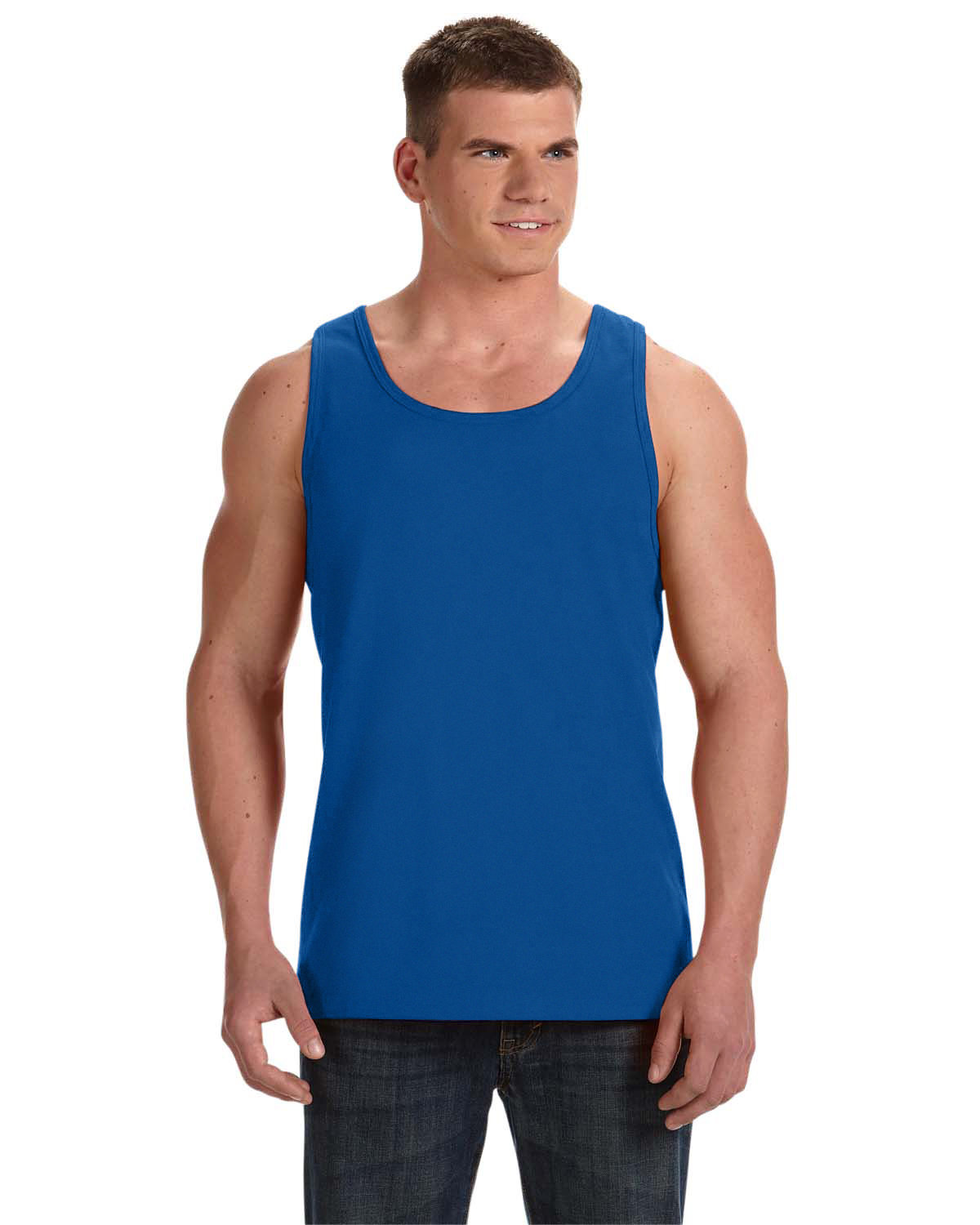 Fruit of the Loom Adult HD Cotton™ Tank ROYAL