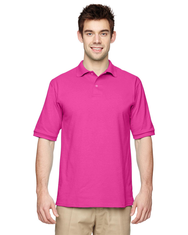 Jerzees Adult SpotShield™ Jersey Polo CYBER PINK