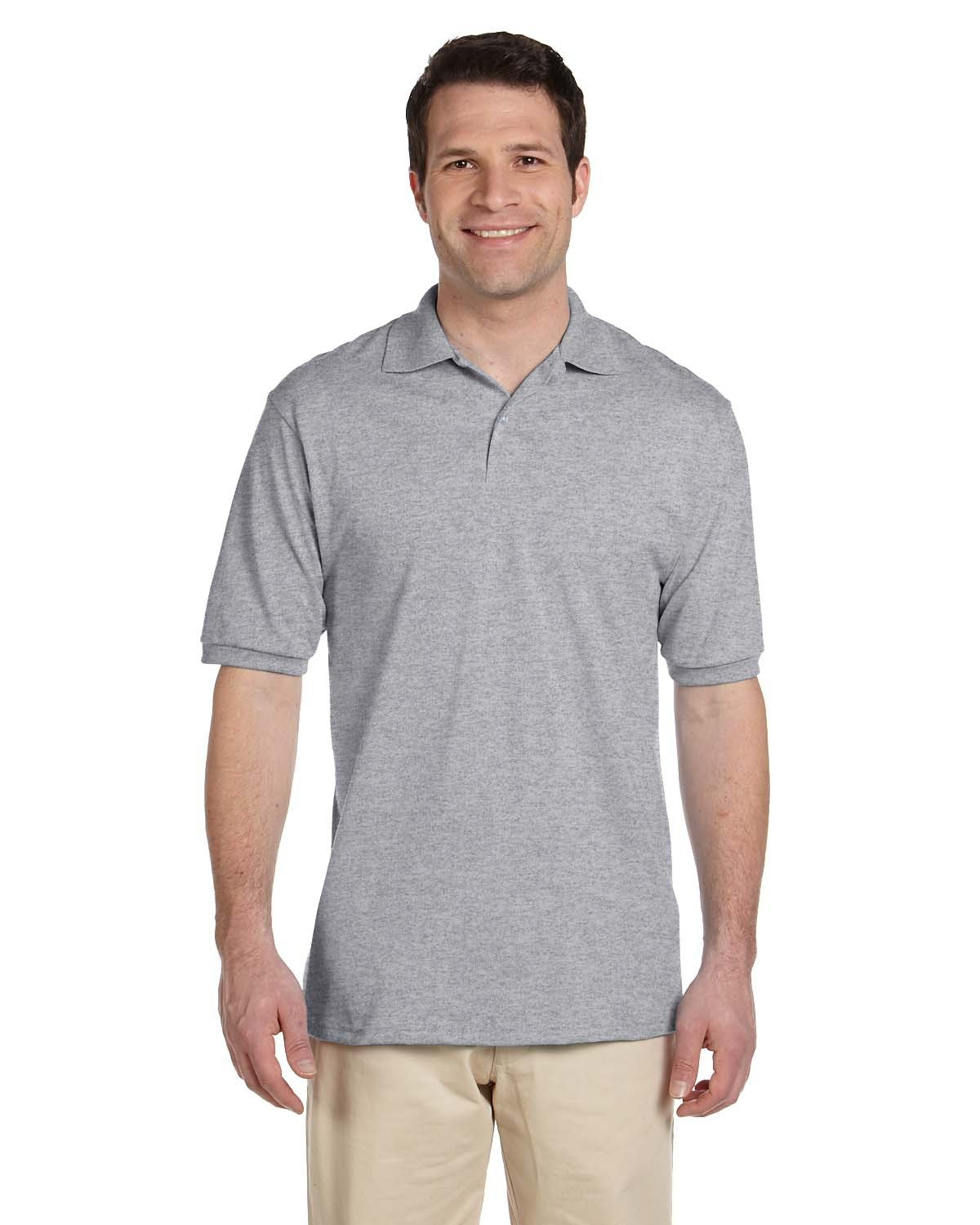 Jerzees Adult SpotShield™ Jersey Polo OXFORD