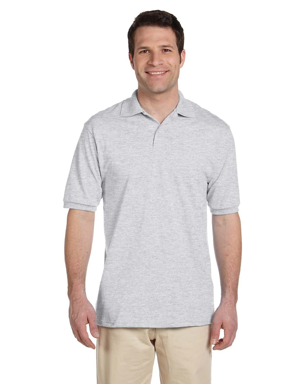 Jerzees Adult SpotShield™ Jersey Polo ASH