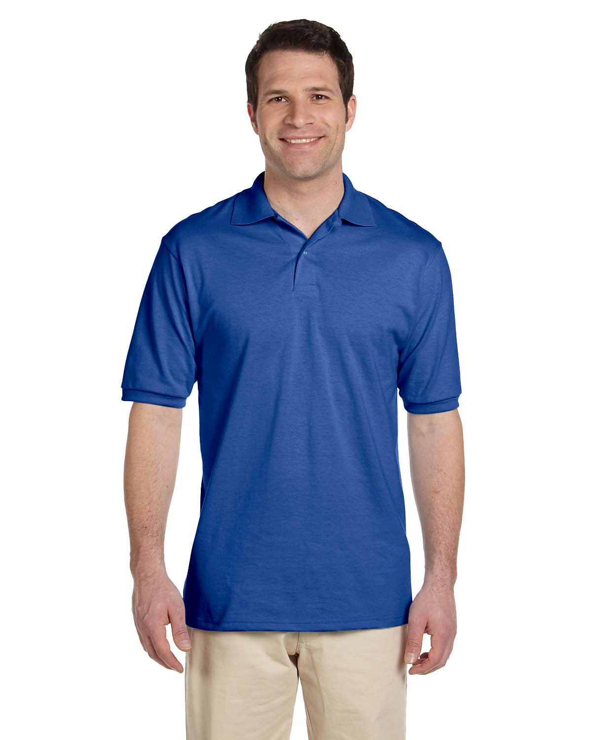 Jerzees Adult SpotShield™ Jersey Polo ROYAL