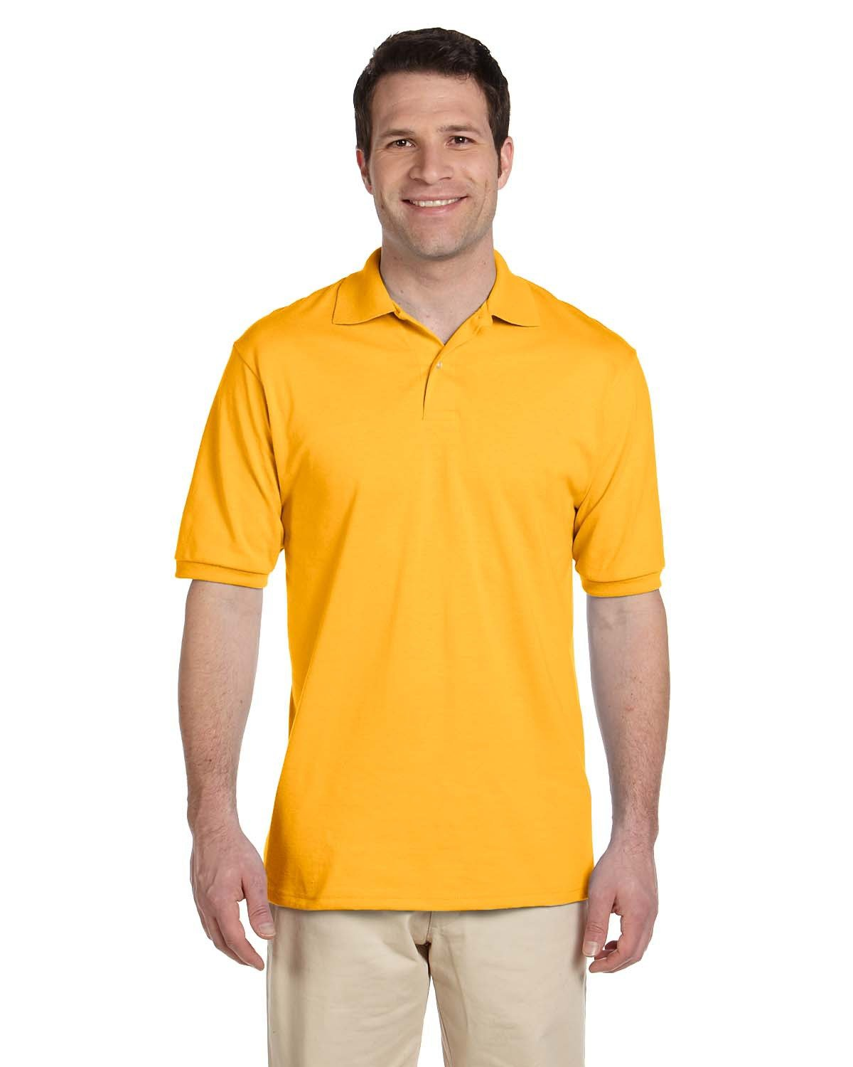 Jerzees Adult SpotShield™ Jersey Polo GOLD