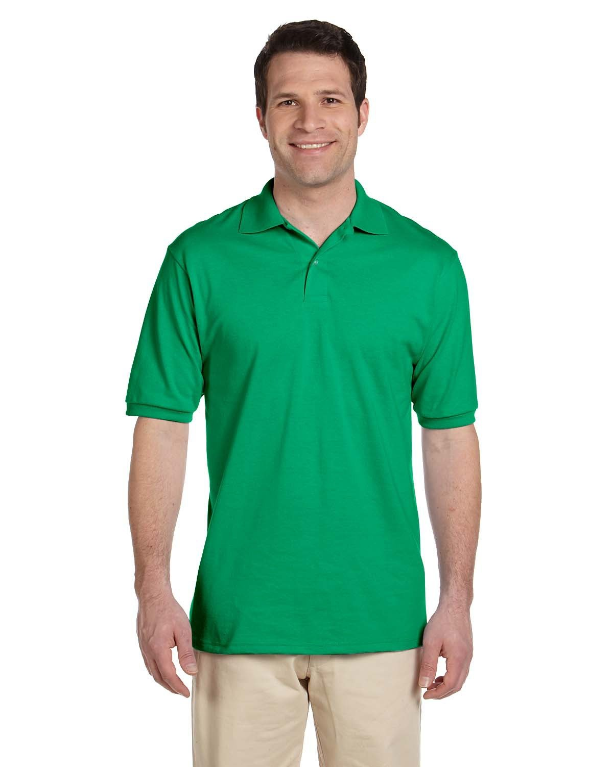 Jerzees Adult SpotShield™ Jersey Polo KELLY