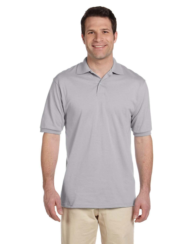 Jerzees Adult SpotShield™ Jersey Polo SILVER