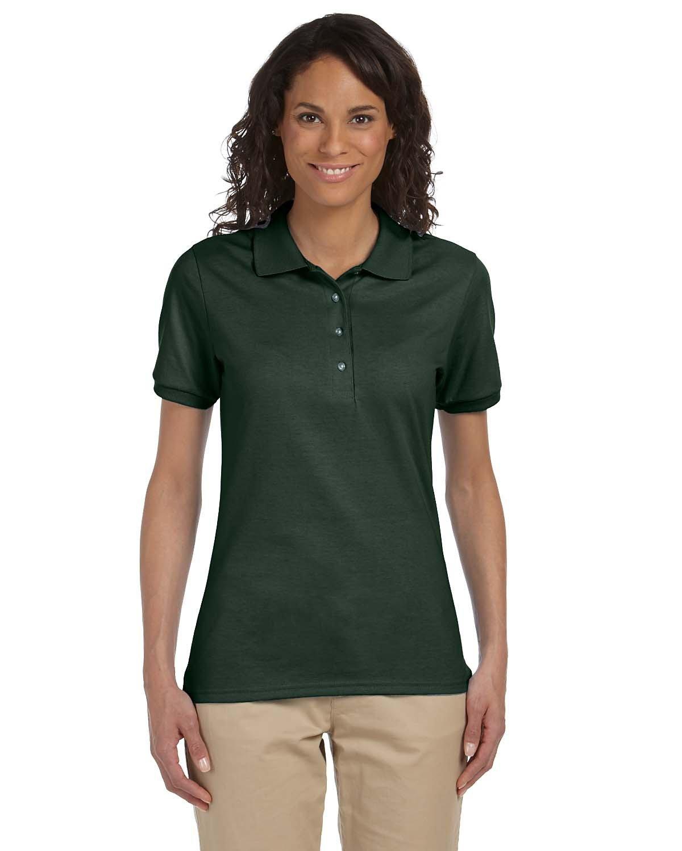 Jerzees Ladies' SpotShield™ Jersey Polo FOREST GREEN