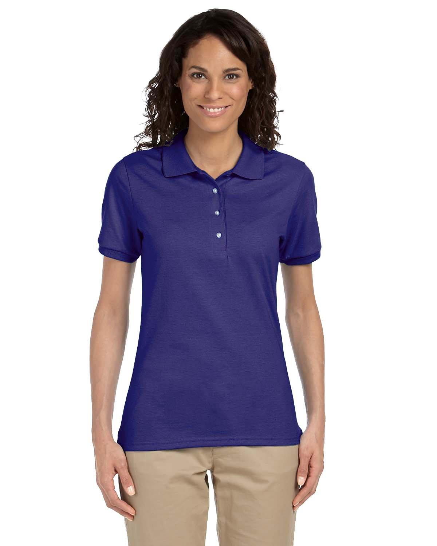 Jerzees Ladies' SpotShield™ Jersey Polo DEEP PURPLE