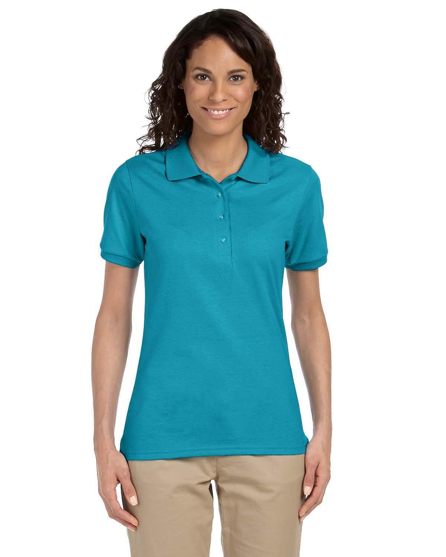 Jerzees Ladies' SpotShield™ Jersey Polo CALIFORNIA BLUE