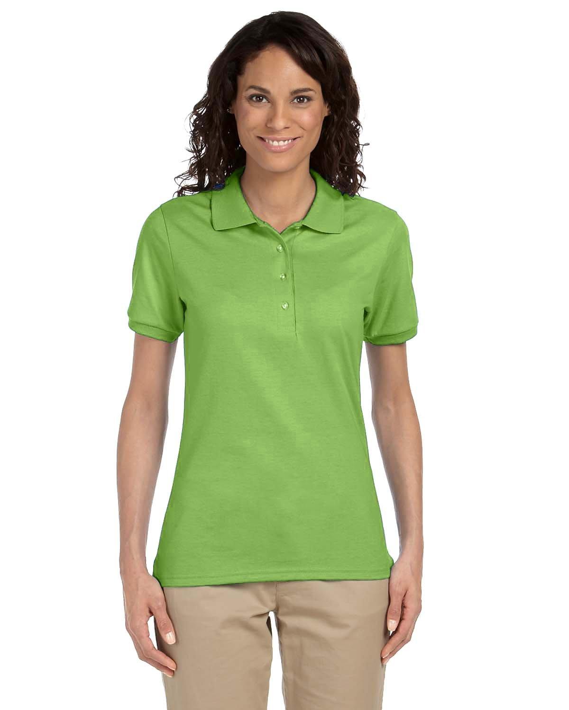 Jerzees Ladies' SpotShield™ Jersey Polo KIWI