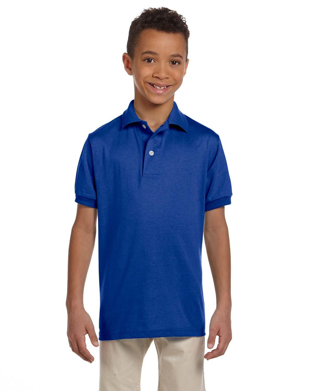 Jerzees Youth SpotShield™ Jersey Polo ROYAL